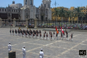 Change of Guard, viewed from the President's Palace