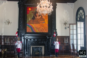 One of the views inside the Palace