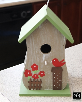 Fancy new birdhouse (Gift)