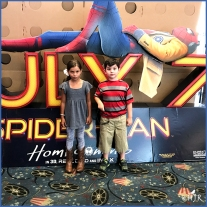 Tyler and best friend at the movies.
